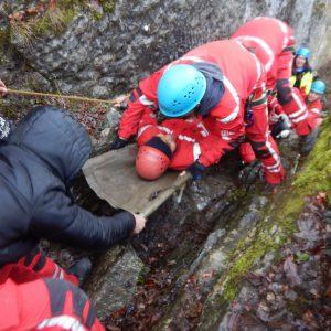 Training in de Ardennen